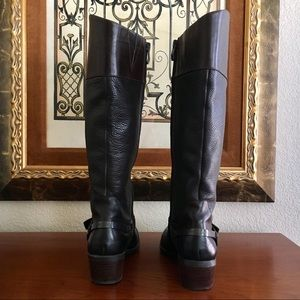 Vince Camuto Shoes - Vince Camuto Moto Knee Boots 7M $199 Wore2x EUC